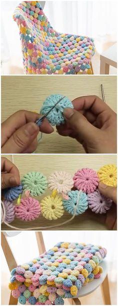 Crochet YoYo Puff Free Pattern