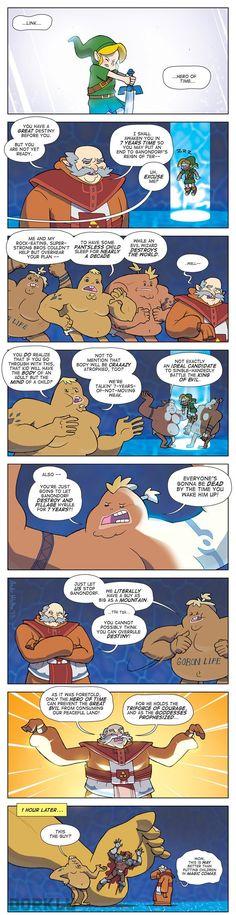 Rauru's Plan in Ocarina of Time