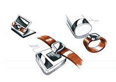 Ein Smartwatch-Solarladegerät als mobile Auflademöglichkeit, wobei die Uhren mithilfe von Solarzellen überall aufgeladen werden können.