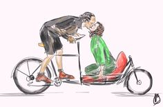 #BikeLove #BeMyBikeValentine #yycbike Cargo Bike, Bike Style, Lifestyle Clothing, 21st Century, Bicycles, Core, Veil, Bicycle, Ride A Bike