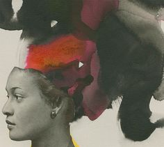 Lorna Simpson: Ebony Collages · Miss Moss African American Artist, American Artists, Collages, Art Alevel, Simpsons Art, Miss Moss, School Of Visual Arts, Beauty Art, Black Art