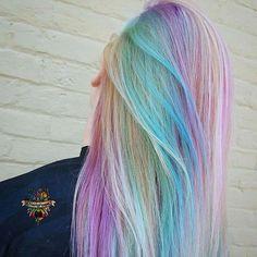 Legit Unicorn hair ❣️ …