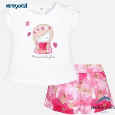 Conjunto para bebe niña MAYORAL princesa de las flores