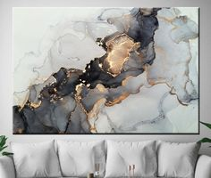 Minimalism Minimalist Art Print Marble Poster Wall Decor Watercolor Modern Wall Panels Gray And White Abstract Gold Details This wall art is designed to make your wall custom you will use . Printing and framing works are done in our workshop. Because of this, If the sizes are not good for Modern Wall Paneling, Modern Wall Art, Large Wall Art, Contemporary Art, Large Canvas Prints, Art Prints, Minimal Art, Grand Art Mural, Art Minimaliste