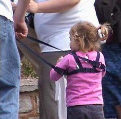 #tightly held #child #reins #harnesskids @HarnessKids