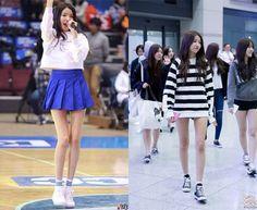 kpop idol legs, kpop sexy legs, kpop skinny legs, sowon legs Skinny Inspiration, Skinny Motivation, Diet Motivation, Skinny Girl Body, Skinny Girls, Thin Legs, Sexy Legs, Long Legs, Skinny Diet