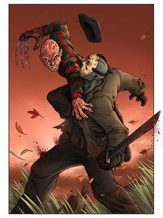 Freddy vs Jason Colors by TPollockJR on DeviantArt
