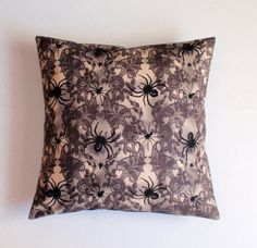 HALLOWEEN Throw Pillow Cover Halloween Decor by PersnicketyHome