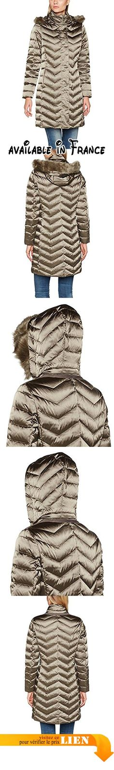 Geox Woman Down Jacket, Manteau Femme, Marron (Bungee Cord F1432), 46 (Taille Fabricant:50). #Apparel #OUTERWEAR