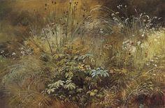 Цифровая репродукция этой картины находится в интернет-галерее http://gallerix.ru Травка (этюд) из Русского музея