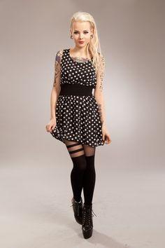 Three Dress Black - VIXXSIN, £19.99