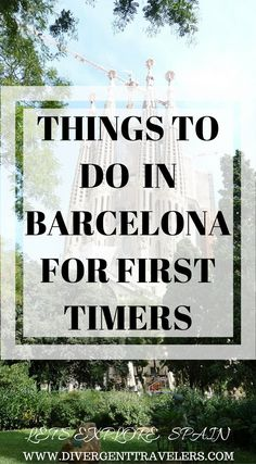 Things to do in Barcelona, Spain for first timers. First time visitors to Barcelona may have an overwhelming time researching before their travel. There's so many things that you can do and see in Barcelona, Spain. We have put together a 3 day Barcelona Itinerary guide for first time travelers. Click to read. #Spain #Barcelona #Itinerary #Guide #Travel