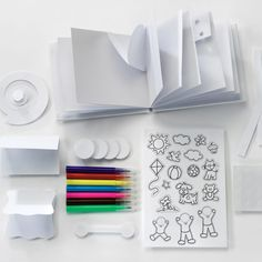 Creativity for Kids West Design Junior Selection Pop-Up Book Mini Kit, Multi-Color, One Size Pop Up, Markers, Kit, Crafty, Make It Yourself, Creative, Books, Core, Libros