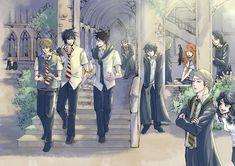 Tags: Anime, Harry Potter, Severus Snape, Sirius Black, Remus Lupin