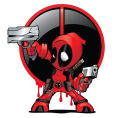 #Deadpool #Fan #Art. (Deadpool) By: Alex Garcia. (THE * 5 * STÅR * ÅWARD * OF: * AW YEAH, IT'S MAJOR ÅWESOMENESS!!!™)[THANK U 4 PINNING!!!<·><]<©>ÅÅÅ+(OB4E)    https://s-media-cache-ak0.pinimg.com/564x/18/c7/eb/18c7eb556c42dd5c6e234638cbdb22b2.jpg
