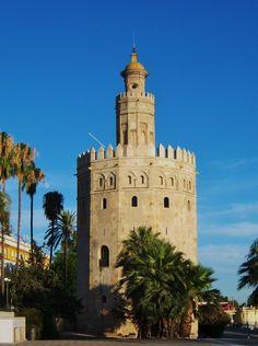 La Torre de Oro, Sevilla, Espana