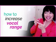 How to Increase your Vocal Range & Sing Higher - Singing Techniques Vocal Lessons, Violin Lessons, Singing Lessons, Singing Tips, Music Lessons, Art Lessons, Singing Exercises, Vocal Exercises, Music Sing