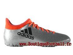 buy popular 2398a 60fd8 Adidas Homme Football Chaussues X 16.3 Turf Silver Met S79575 Adidas Prix  Adidas Prix