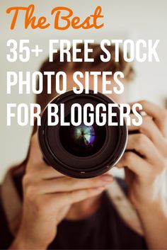 "Awesome list! ""The Best 35+ Free Stock Photo Sites for Bloggers"""