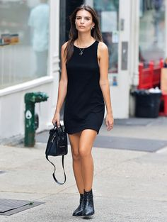 How to Wear Black Without Looking Boring via @WhoWhatWearAU