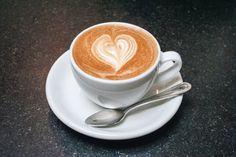 Cappuccino at Caffe Luxxe, Santa Monica, CA