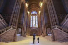 Liverpool Cathedral, one of England's relics that survived two world wars, is one of the most spectacular buildings in the world and well worth a visit if you're passing through the UK.