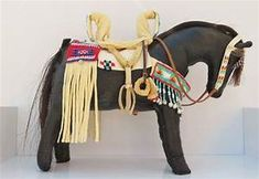 Native American Indian spirit horse pony doll by ...