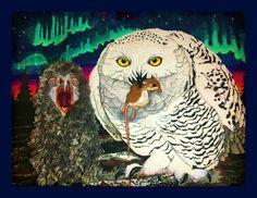 Snowy Owl - National bird series
