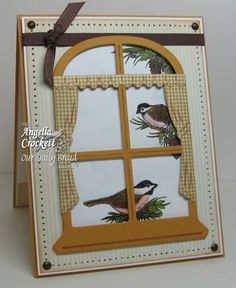 Chickadee Window