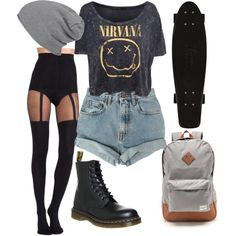Discover ideas about indie hipster fashion Soft Grunge Outfits, Hipster Outfits, Indie Outfits, Casual Outfits, Cute Outfits, Gothic Outfits, Grunge Clothes, Style Indie, Style Grunge