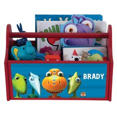 Help your little one stay organized with our versatile Dinosaur Train Buddy & Siblings Toy Caddy. Great for holding school supplies, art supplies and toys, it's easy to tote from room to room. Dino Train, Dinosaur Train Party, Dinosaur Birthday Party, Trains Birthday Party, 3rd Birthday Parties, Pbs Kids, Dora The Explorer, Toy Boxes, T Rex