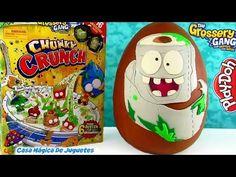 Huevo Sorpresa Gigante de Rough Toilet Paper de Grossery Gang Crusty Chocolate Plastilina Play Doh - YouTube