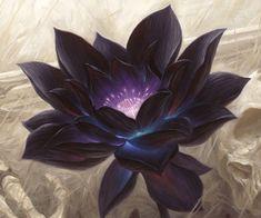 "Black Lotus Casino is named after this poisonous flower. It is from ""Black Lotus… Black Lotus Tattoo, Black Tattoos, Lotus Kunst, Lotus Art, Blue Lotus, Wrist Tattoo Cover Up, Cover Up Tattoos, Artwork Fantasy, Single Rose Tattoos"