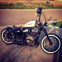 Harley Davidson News – Harley Davidson Bike Pics Harley Nightster, Hd Sportster, Custom Sportster, Harley Bobber, Custom Bobber, Bobber Chopper, Custom Harleys, Hd Motorcycles, Bobber Bikes