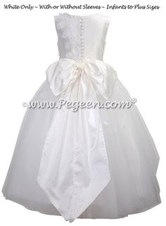 White First Holy Communion Dress Style 961 | Pegeen