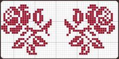 Cross Stitch Rose, Cross Stitch Borders, Cross Stitch Charts, Cross Stitch Designs, Cross Stitching, Cross Stitch Embroidery, Embroidery Patterns, Cross Stitch Alphabet Patterns, Tapestry Crochet