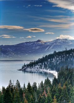 Lake Tahoe has to be one of my very favorite places...