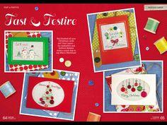 Fast & Festive by Maria Diaz CrossStitcher  Issue 299 December 2015 Zinio Saved