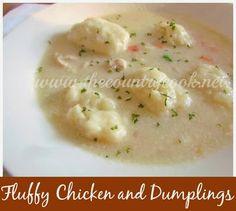 Fluffy Chicken and Dumplings