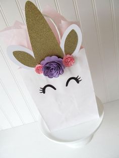 Bolsa Favor de unicornio  unicornio Decor Party  favores de