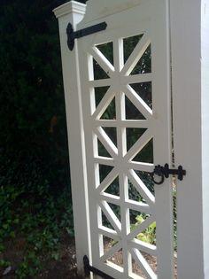 door style gate