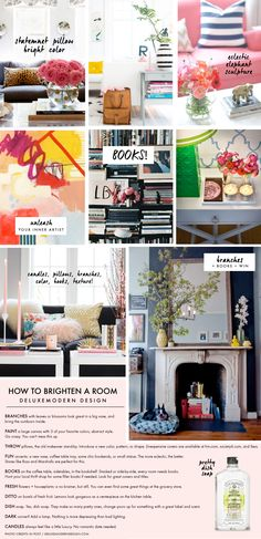 Deluxemodern Style: how to brighten a room