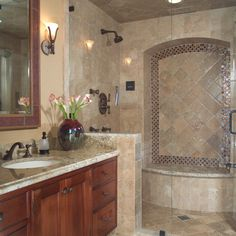 Mediterranean Full Bathroom - Come find more on Zillow Digs!