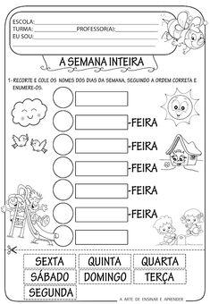 A Arte de Ensinar e Aprender: Atividades alfabetização