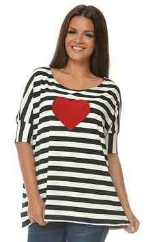 Heart Chic blouse