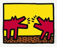 Keith Haring (1958-1990) Untitled, from Pop Shop IV