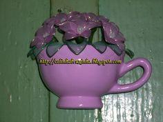xícara de parede