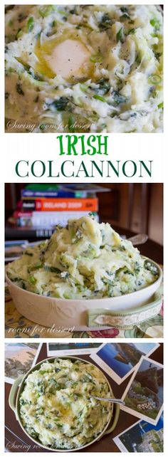Colcannon - a classic Irish dish perfect anytime but especially around St. Patrick's Day!