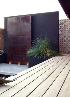 pared de agua terraza oficina