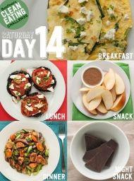 DEN 14 - přijměte výzvu a zkuste 14 denní čistou stravu